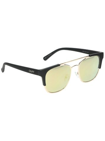 Quay Australia High and Dry Gold Sonnenbrille