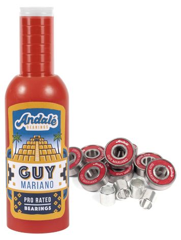 Andale Bearings Guy Mariano Hot Sauce Wax & Bearings Bottle