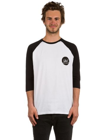 Bleed Dot Baseball T-Shirt LS