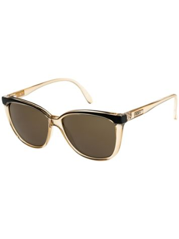 Roxy Jade Shiny Crystal Champagne Black Sonnenbrille