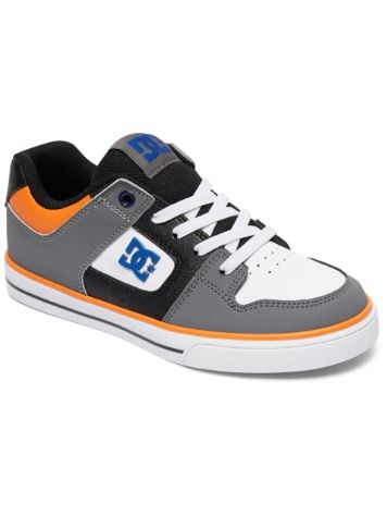 DC Pure Elastic Skate Shoes Boys