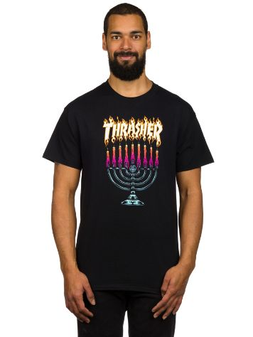 Thrasher Menorah Camiseta