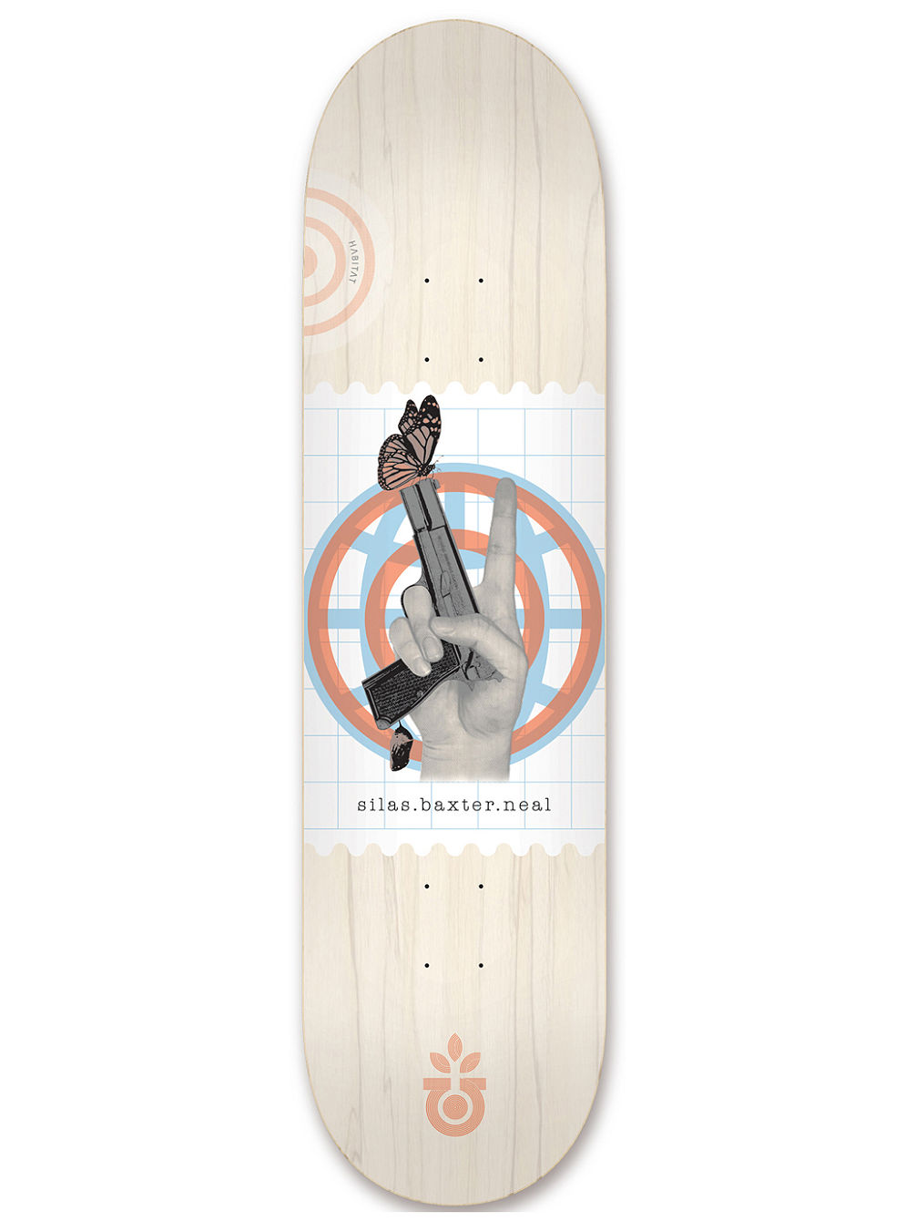 "Silas World Piece 8.0"" Skateboard Deck"