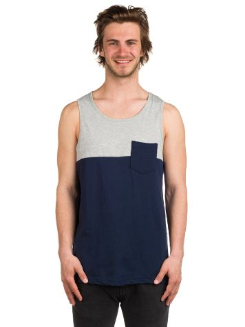 Zine Blocked Tank Top