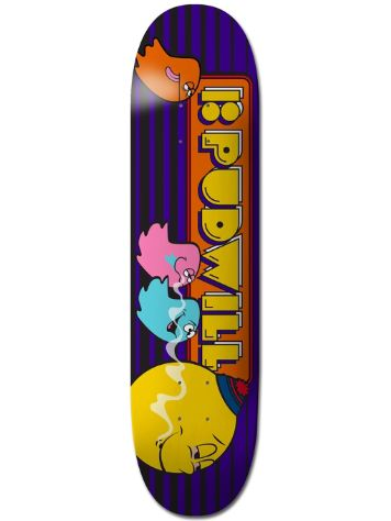 "Plan B Pudwill Fiends Blk Ice 8"" Skateboard Dec"