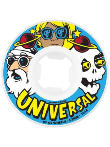 OJ Wheels Universal Insaneathane 101A 55mm Wheels