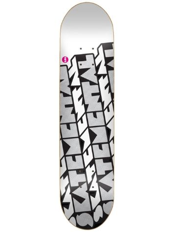 "Skate Mental Drop Block 8.5"" Skateboard Deck"