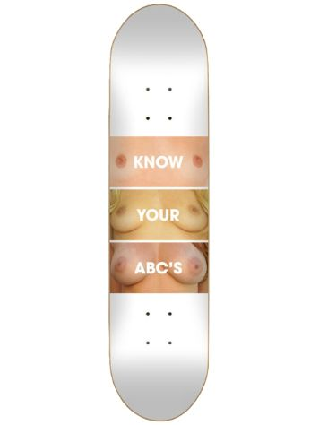 "Skate Mental Know Your Abcs 8.25"" Skateboard Deck"