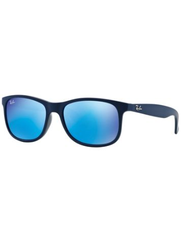 Ray Ban Andy Shiny Blue On Matte Top Mirror