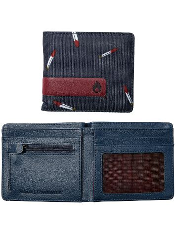 Nixon Showdown Bi-Fold Zip Cartera