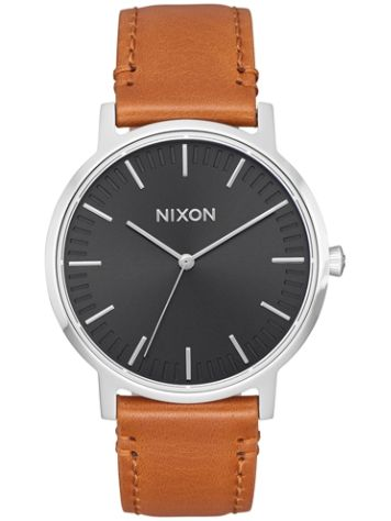 Nixon The Porter 35 Leather Horloge