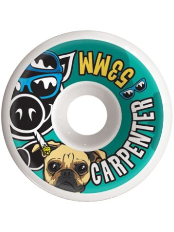 Pig Wheels Carpenter Vice 53mm Wheels