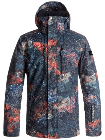 Quiksilver Tr Mission Printed Jacke