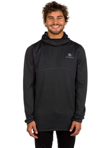 Quiksilver Tr Log Hood Fleece Tech Tee LS