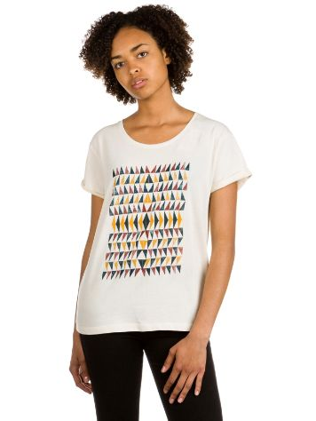 Roxy Boyfriend Wallpaper Geo T-Shirt