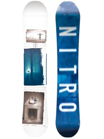 Nitro Team Exposure Wide Gullwing 162 2018 Snowboard