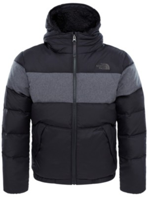 THE NORTH FACE Moondogy 2 Down Hooded Jacket Boys tnf black Gr. M