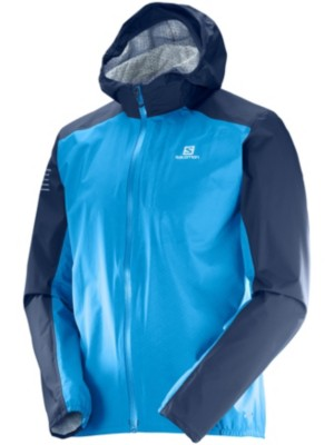 Salomon Bonatti Wp Outdoor Jacket hawaiian surf / dress blue Gr. L