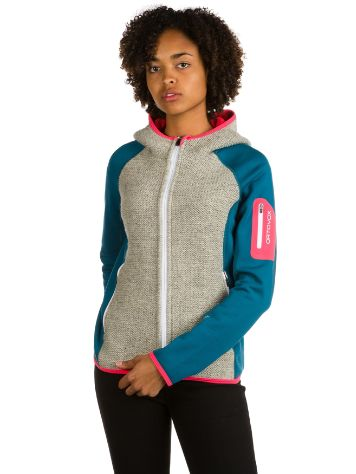 Ortovox Plus Classic Knit Hooded Fleece jas