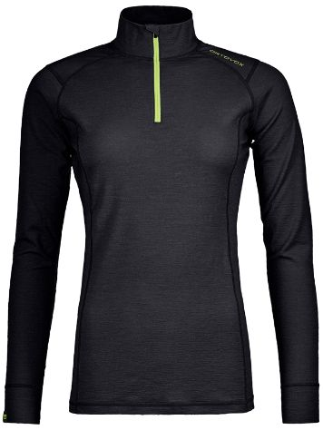 Ortovox 145 Ultra Zip Neck Tech t-shirt LS