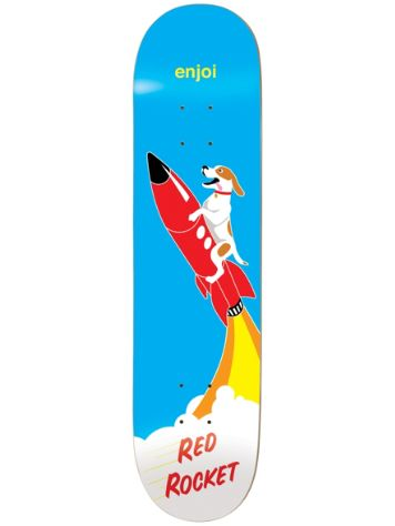 "Enjoi Red Rocked R7 8.125"" Deck"