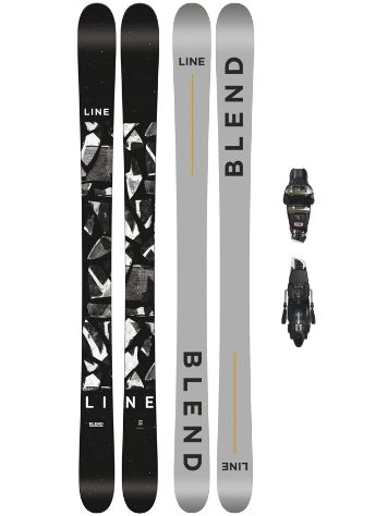 Line Blend 178 + Griffon 13 110mm black 2018 Freeski set