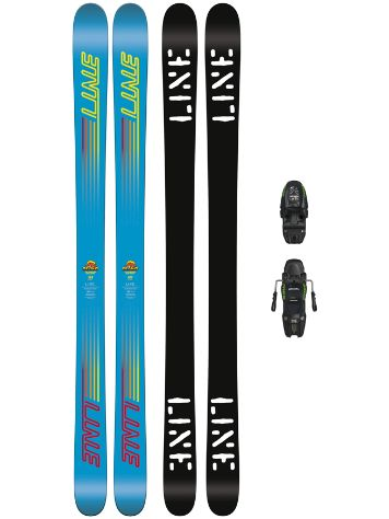 Line Gizmo 133 + M7.0 Free 85mm 2018 Youth Freeski set