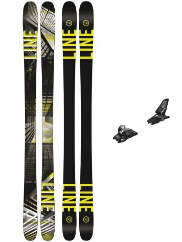 Line Tom Wallisch Pro 171 + Squire 11 90mm black 2018 Conjunto freeski