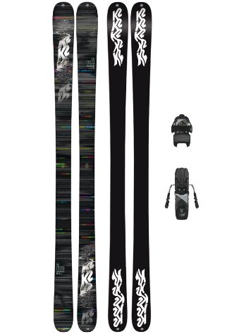 K2 Press 159 + Free Ten 85mm blk/wht 2018 Freeski-Set