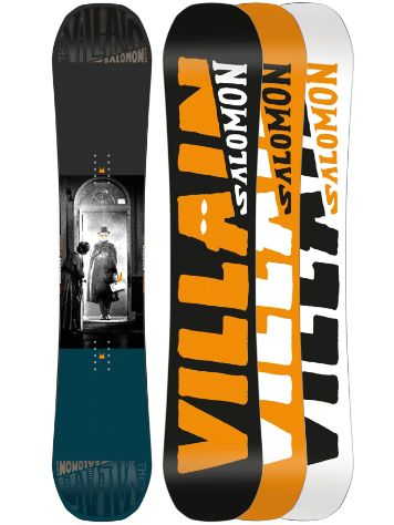 Salomon The Villain 153 2018 Snowboard