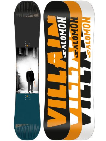 Salomon The Villain 158W 2018 Snowboard
