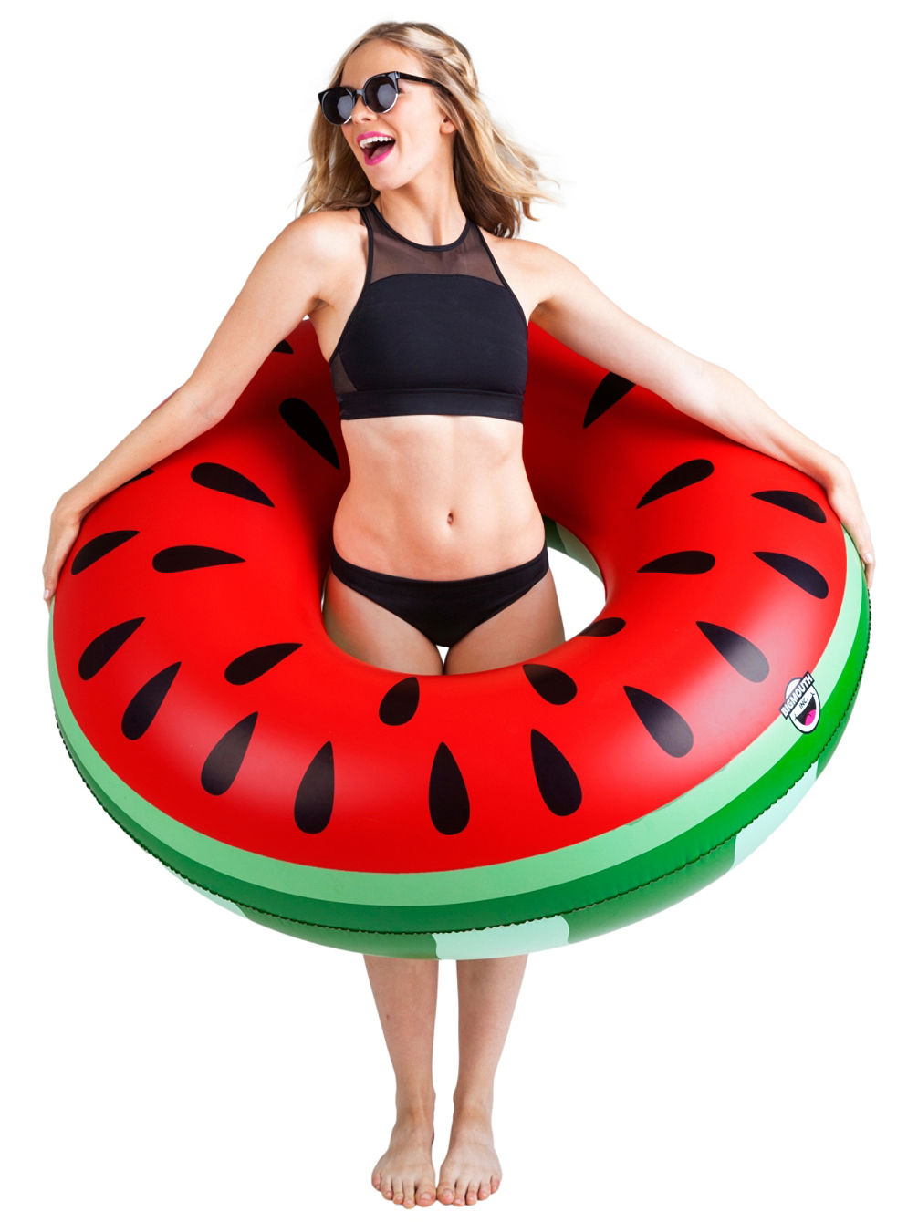 big mouth toys pool float giant watermelon online kaufen bei blue. Black Bedroom Furniture Sets. Home Design Ideas
