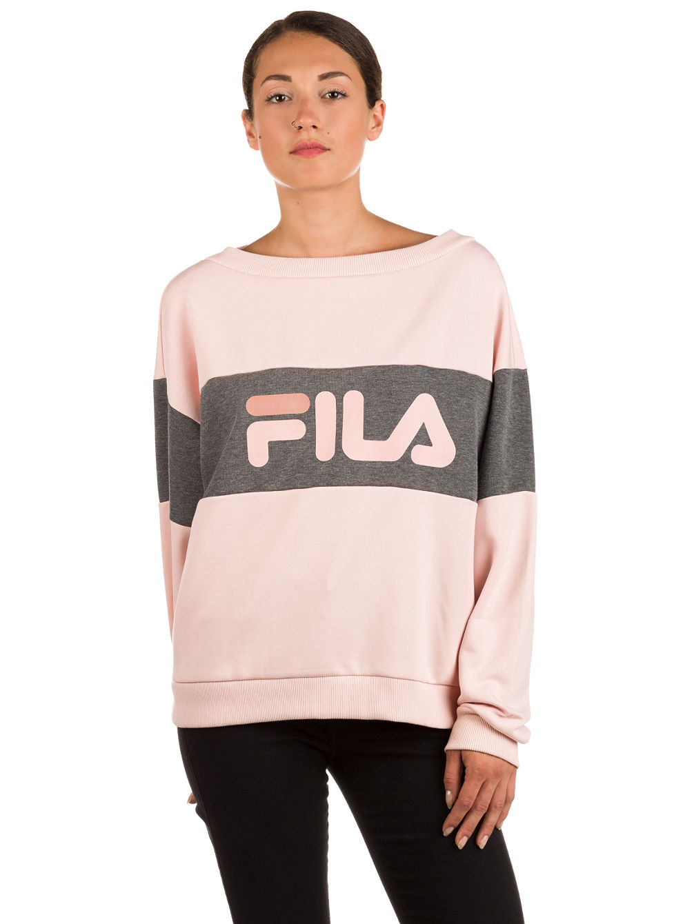 fila elin crew sweater online kopen bij blue. Black Bedroom Furniture Sets. Home Design Ideas