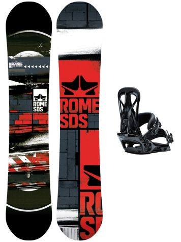 Rome Mechanic 161W + United L Blk 2018