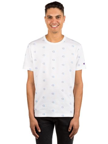 Champion Short Sleeve All Over Print T-Shirt