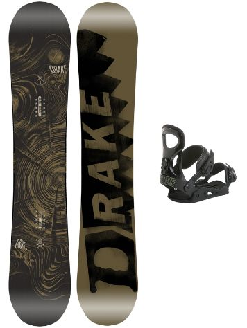 Drake League 148 + King L Blk 2018 Snowboard Set