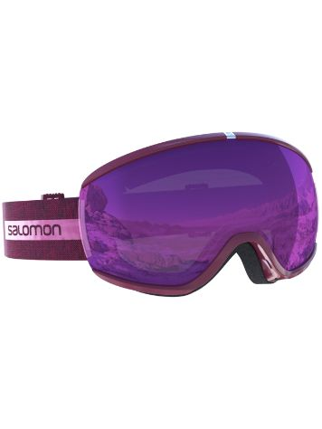 Salomon Ivy Beet Red Goggle