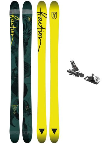 Faction Ambit 158 + SPX 12 Blk/Wht 2018 Freeski-Set