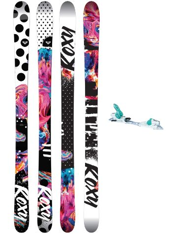 Roxy Ily 158 + Xpress 11 2018 Freeski set