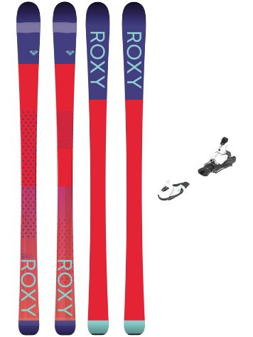 Roxy Kaya 77 158 + L7 Ezytrak 2018 Freeski-Set