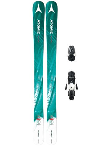 Atomic Backland Girl III 150 + L7 90mm Blk/Wht 2018 Youth Freeski set