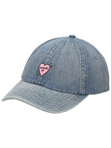 Empyre Girls Femininst AF Denim Cap