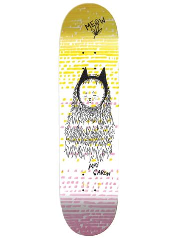 "Meow Skateboards Amy Caron Dress Up 7.75"" Skateboard Deck"