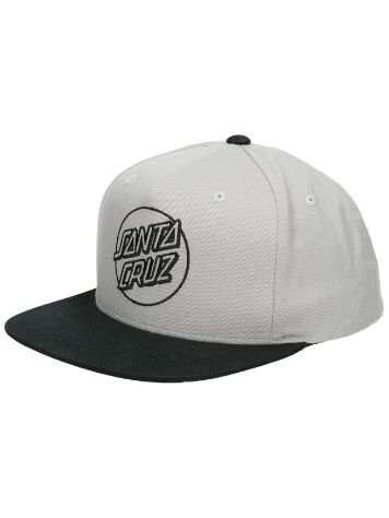Santa Cruz Outline Dot Snapback Cap