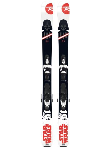 Rossignol Star Wars 128 + Kid-X 4 B76 Blk/Wht 2018 You