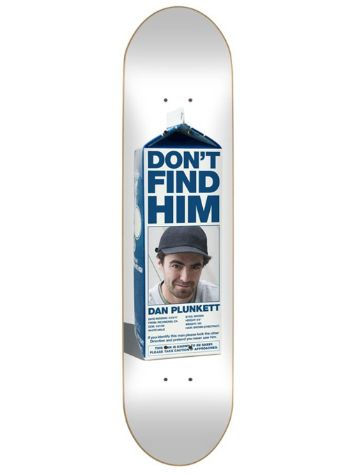 "Skate Mental Plunkett Missing 8.125"" Skateboard Deck"