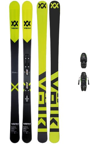 Völkl Revolt 148 + Free7.0 85mm Blk 2018 Boys Freeski-Set