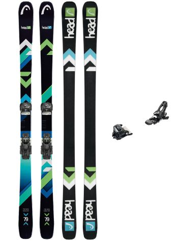 Head The Show 181 + AAAttack 11 90mm 2018 Freeski set
