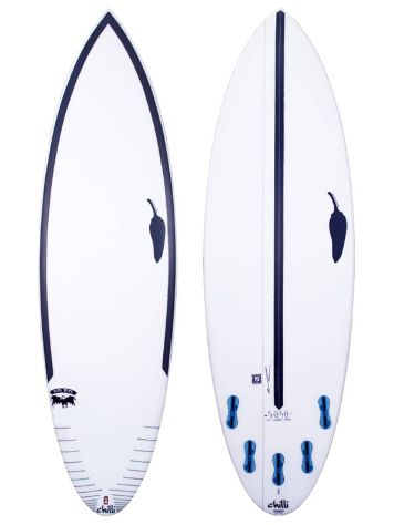 LSD Surfboards Chilli Rare Bird 6.0 50/50 Fcsii Surfboard