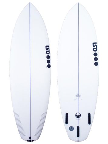 LSD Surfboards Twinny 5.10 Xf Futures Surfboard